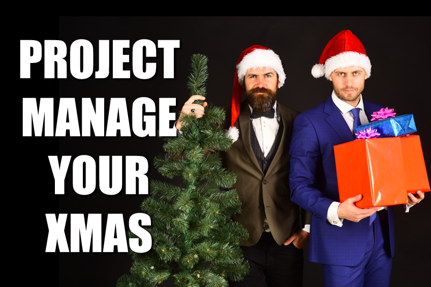 Project manage your Christmas