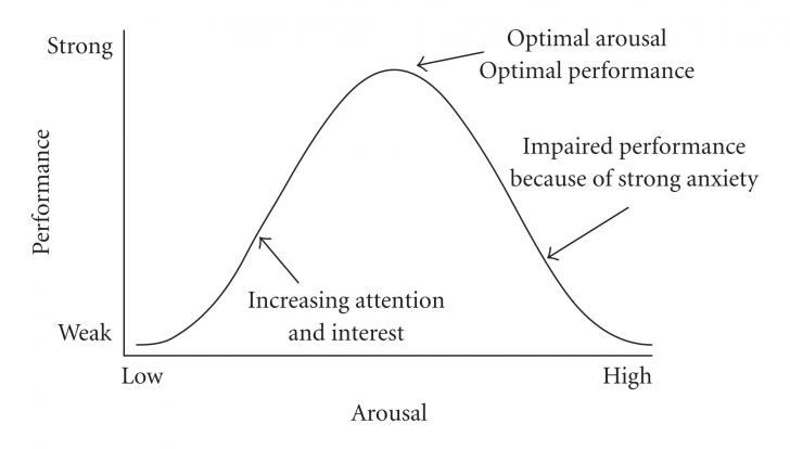 The Yerkes Dodson Inverted U Model of Stress
