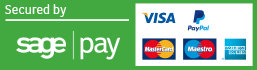 Pay by MasterCard, Visa or American Express